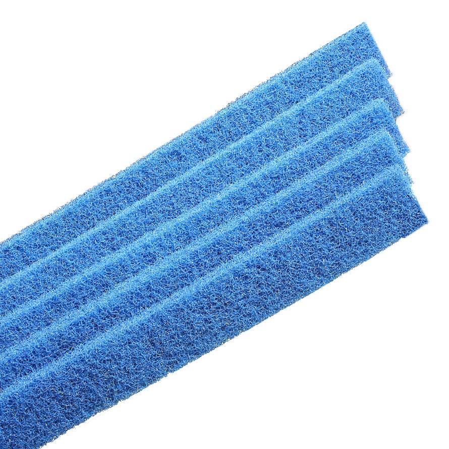 blue pad strips
