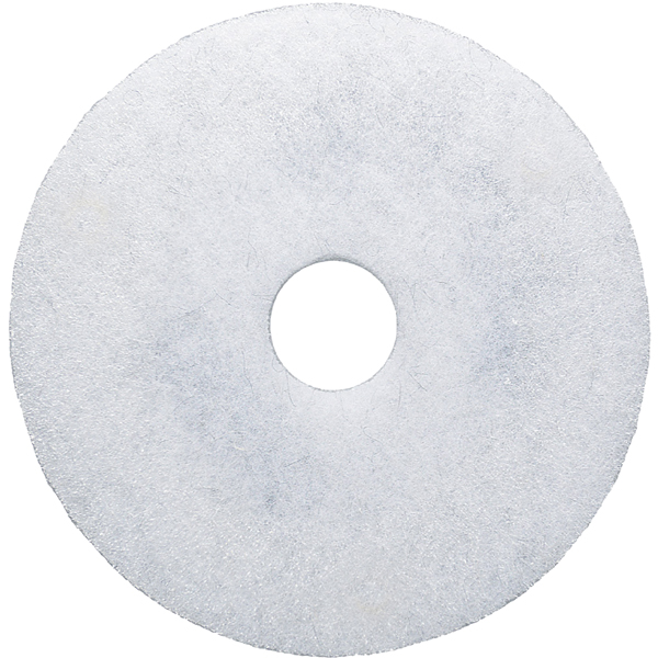 white super polish - floor cleaning pads