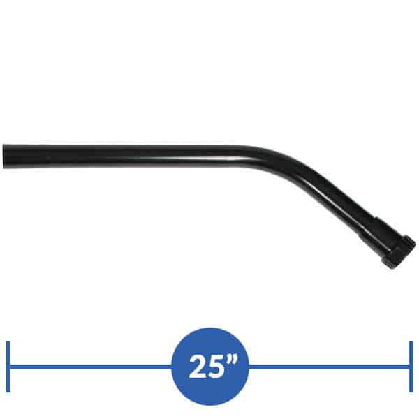 45-degree extension wand, std tl coupler