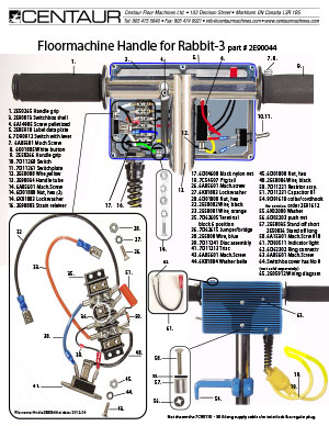 Rabbit-3 Handle Tube Assembly
