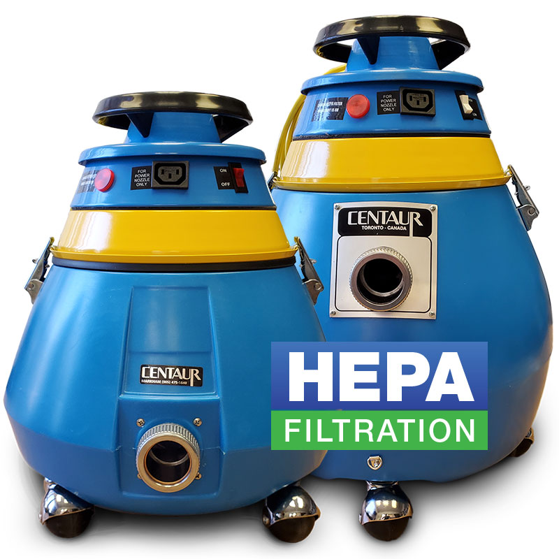 Silento Dry Cannister Commercial Vacuum HEPA