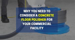 concrete floor polisher