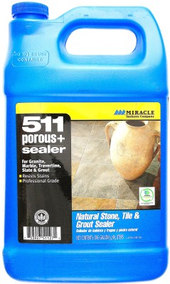 511 Porous+Sealer is a penetrating sealer designed to protecting the most porous surfaces.It forms an invisible barrier that is resistant to moisture, stains