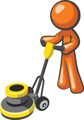 Janitor stick polish